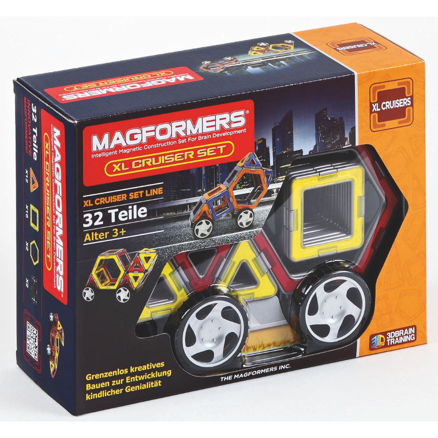 MAGFORMERS® XL Cruisers Car Set