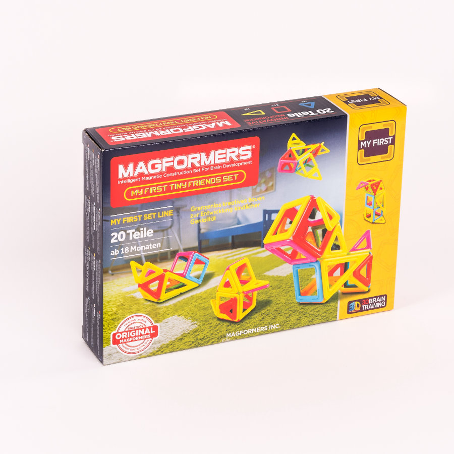 MAGFORMERS® Jeu magnétique My First Tiny Friends 20 pièces