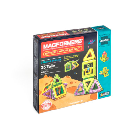 MAGFORMERS® Space Traveller Set
