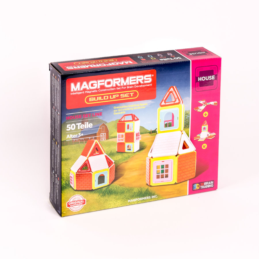 MAGFORMERS® Build up Sæt