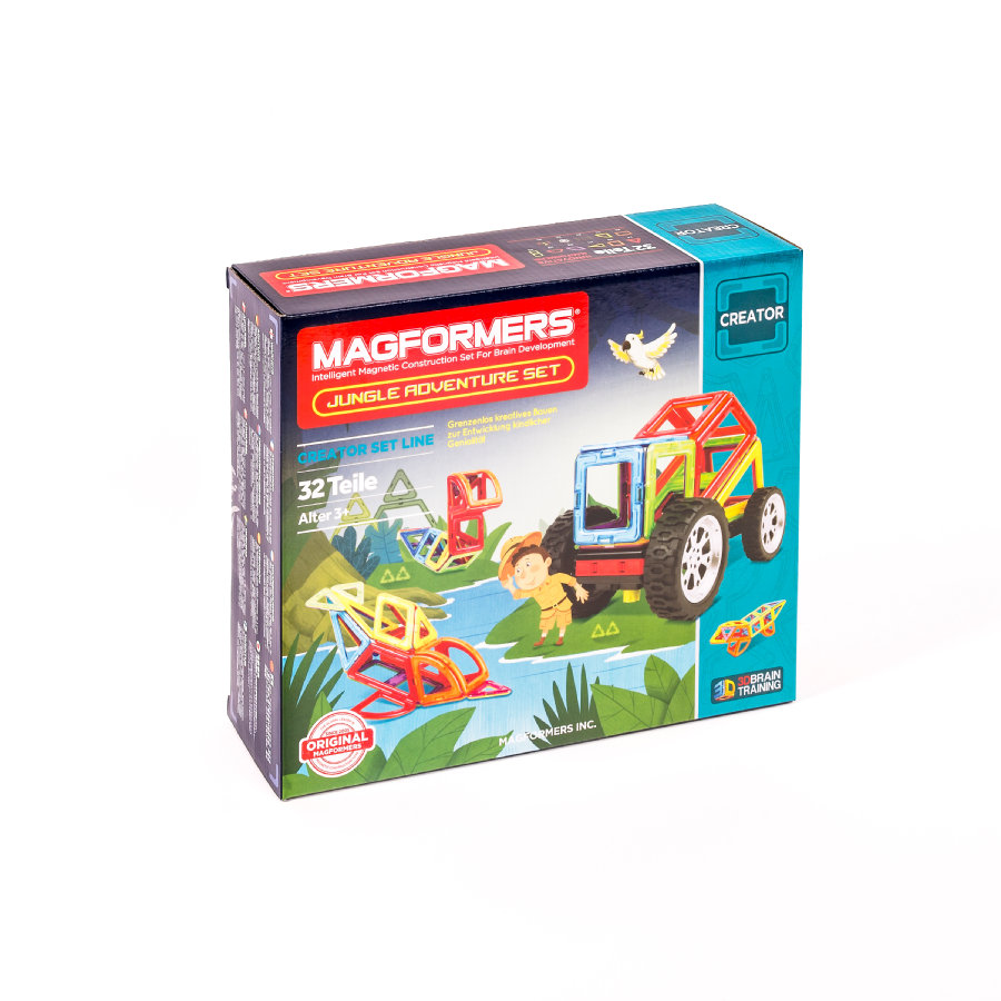 MAGFORMERS® Jungle Adventure Set