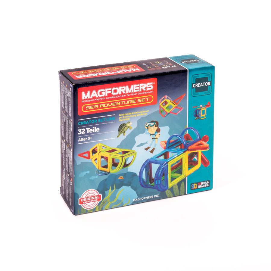 MAGFORMERS® Sea Adventure Set