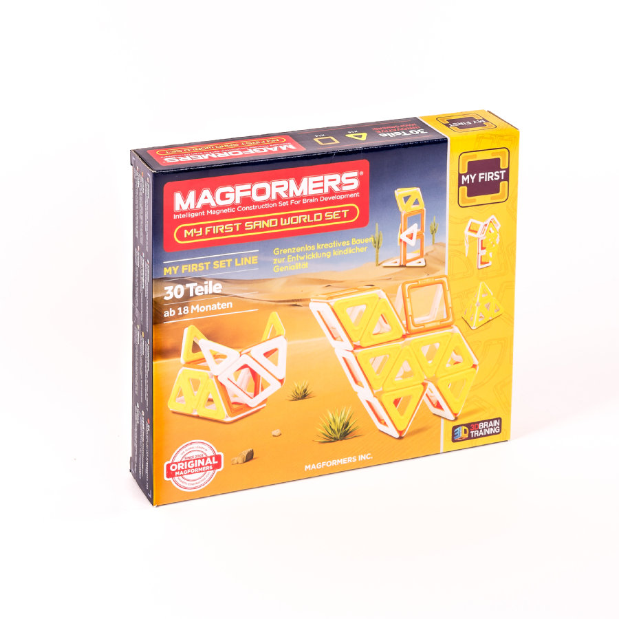 MAGFORMERS® My First Sand World -setti