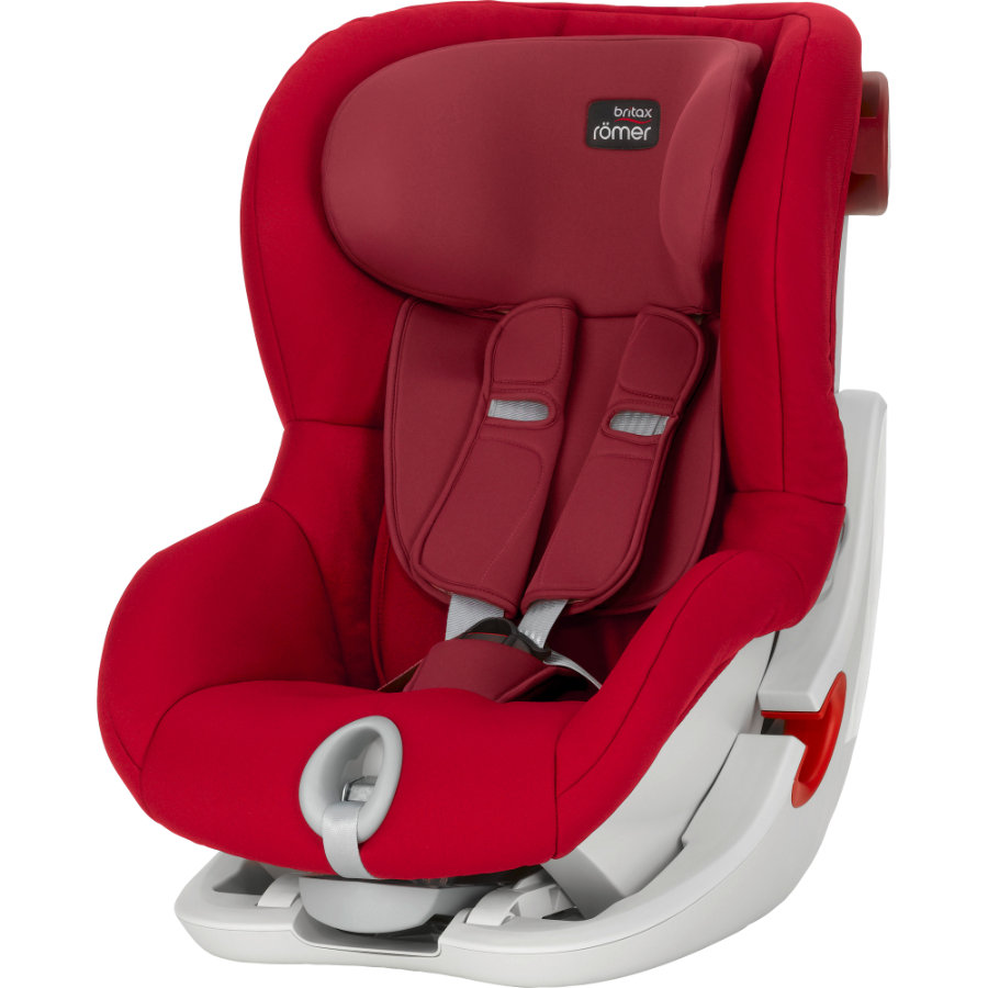 BRITAX Bilbarnstol King II Flame Red Kollektion 2016
