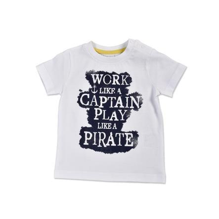 BLUE SEVEN T-Shirt Pirat weiß