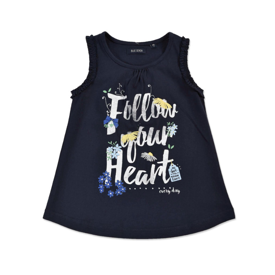 BLUE SEVEN Girl s Top donkerblauw