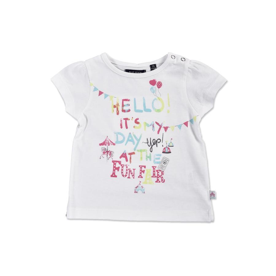 BLUE SEVEN T-Shirt weiß Jahrmarkt
