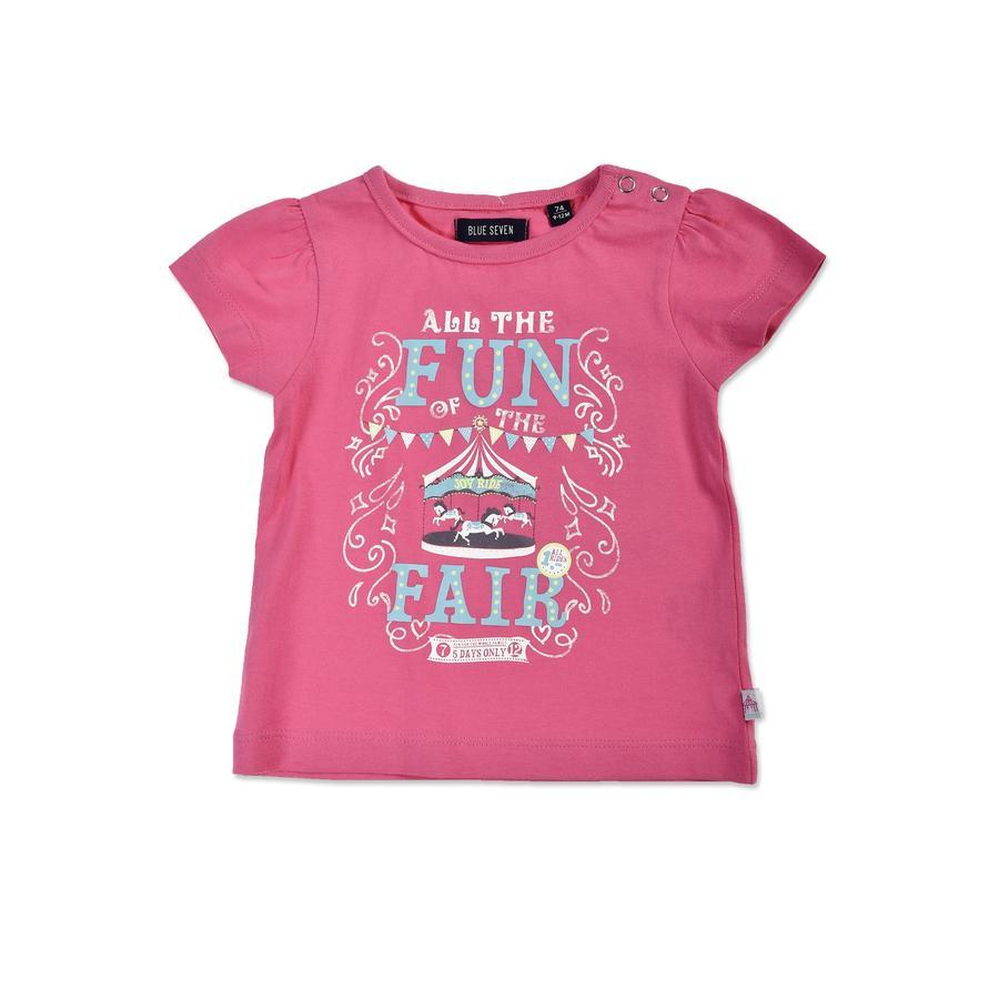 BLUE SEVEN T-Shirt Jahrmarkt pink