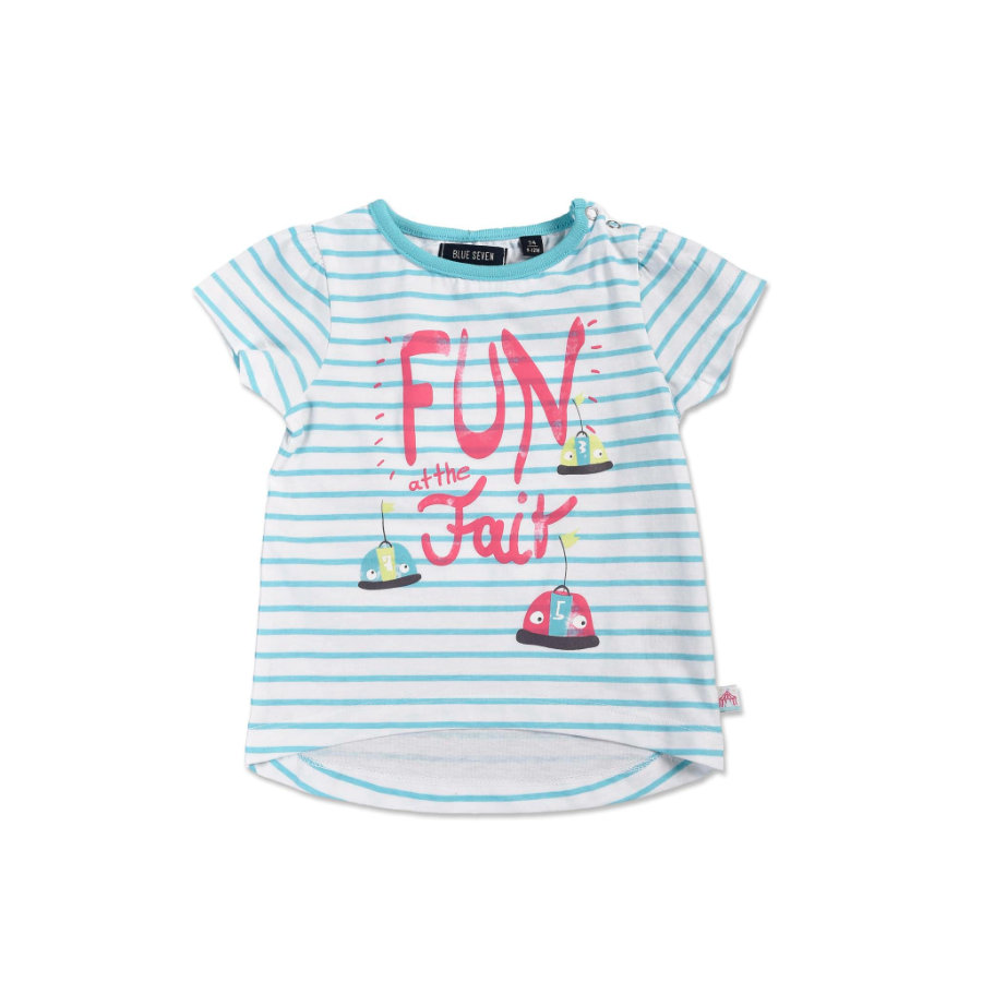 BLUE SEVEN Girls T-Shirt Jahrmarkt Cyan