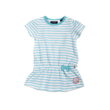 BLUE SEVEN Girls Kleid Cyan gestreift