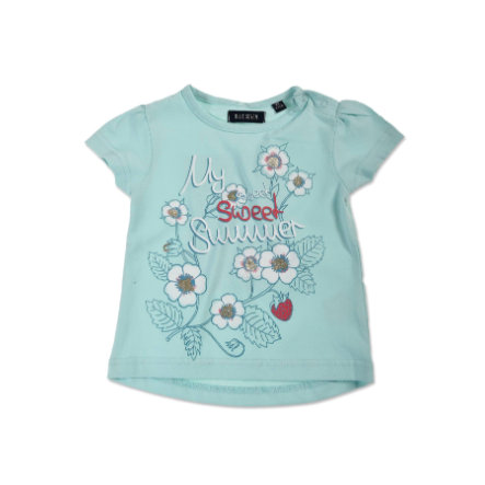 BLUE SEVEN Girls T-Shirt Flower cyan