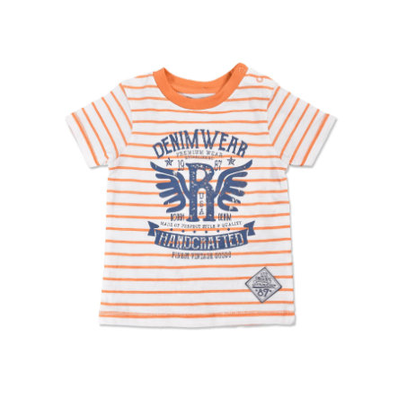 BLUE SEVEN Boys T-Shirt Vintage orange gestreift