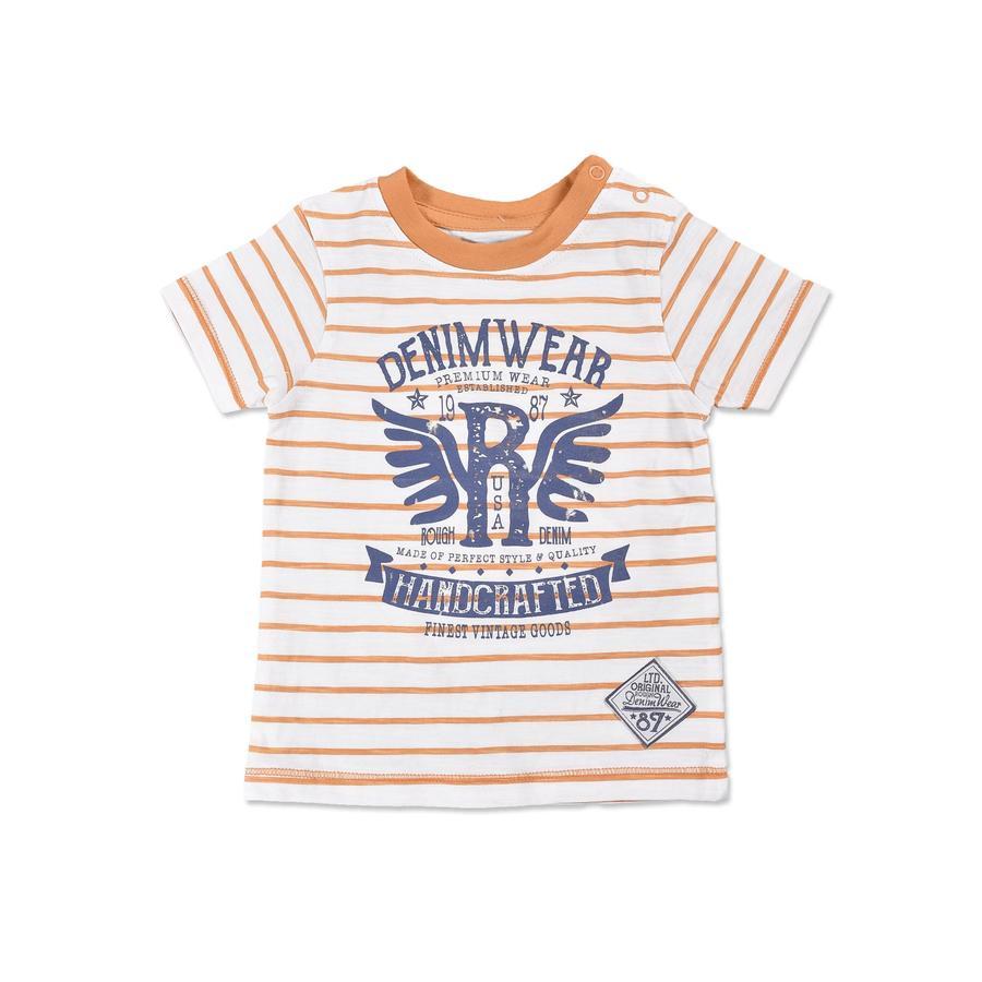 BLUE SEVEN Boys T-Shirt Vintage orange rayé
