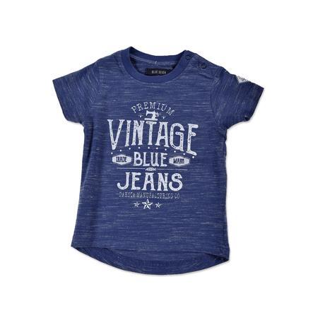 BLUE SEVEN T-skjorte for gutter Vintage jeansblå