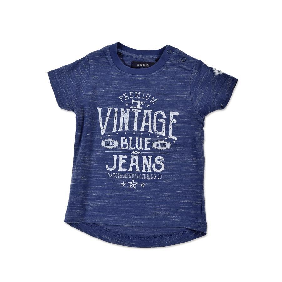 BLUE SEVEN Boys T-Shirt Vintage jeansblau