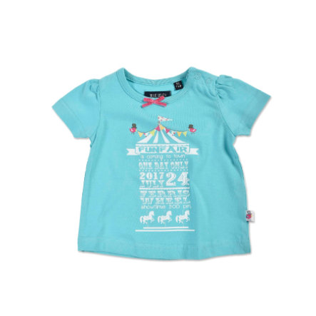 BLUE SEVEN Girls T-Shirt Zirkus cyan