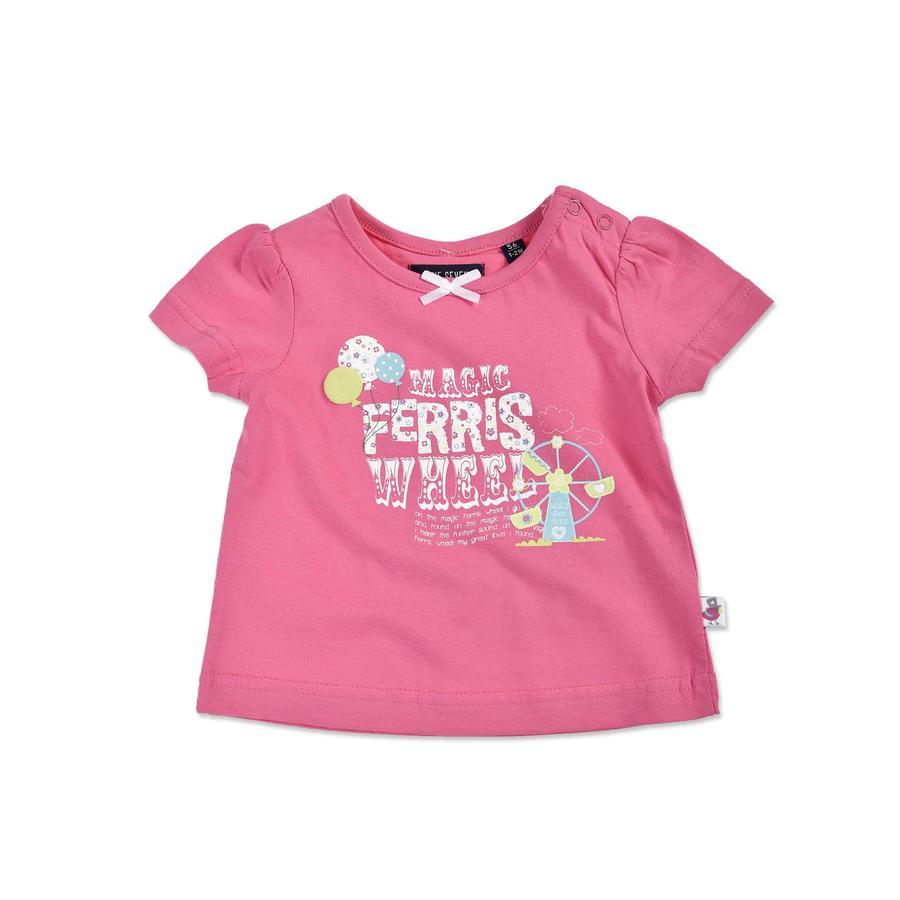 BLUE SEVEN Girls T-Shirt Riesenrad pink