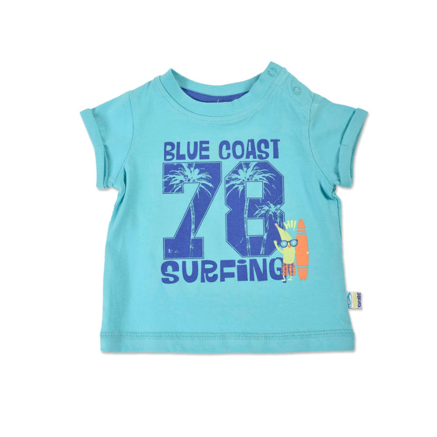 BLUE SEVEN Boys T-Shirt Blue Coast Surfing cyan