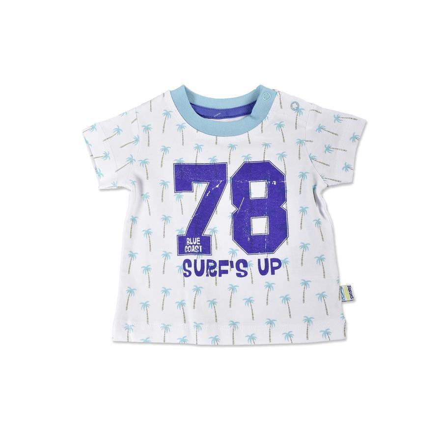 BLUE SEVEN T-Shirt Palmer Cyan