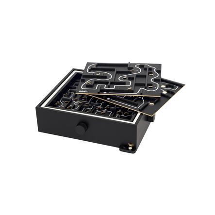 BRIO® Zwarte Labyrint met oefenplaten.