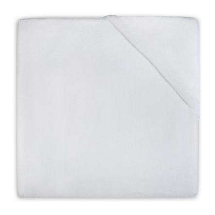 jollein Spannlaken Frottee 60x120 cm weiß