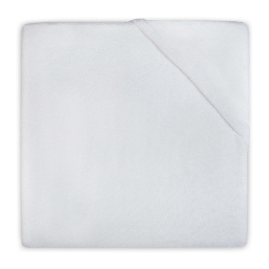 jollein Drap-housse éponge blanc 60 x 120 cm
