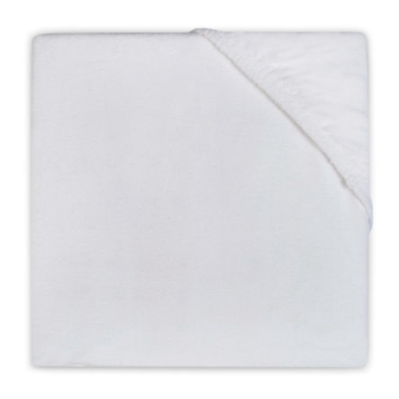 jollein Lenzuolo ad angoli Molton 70x140 cm bianco