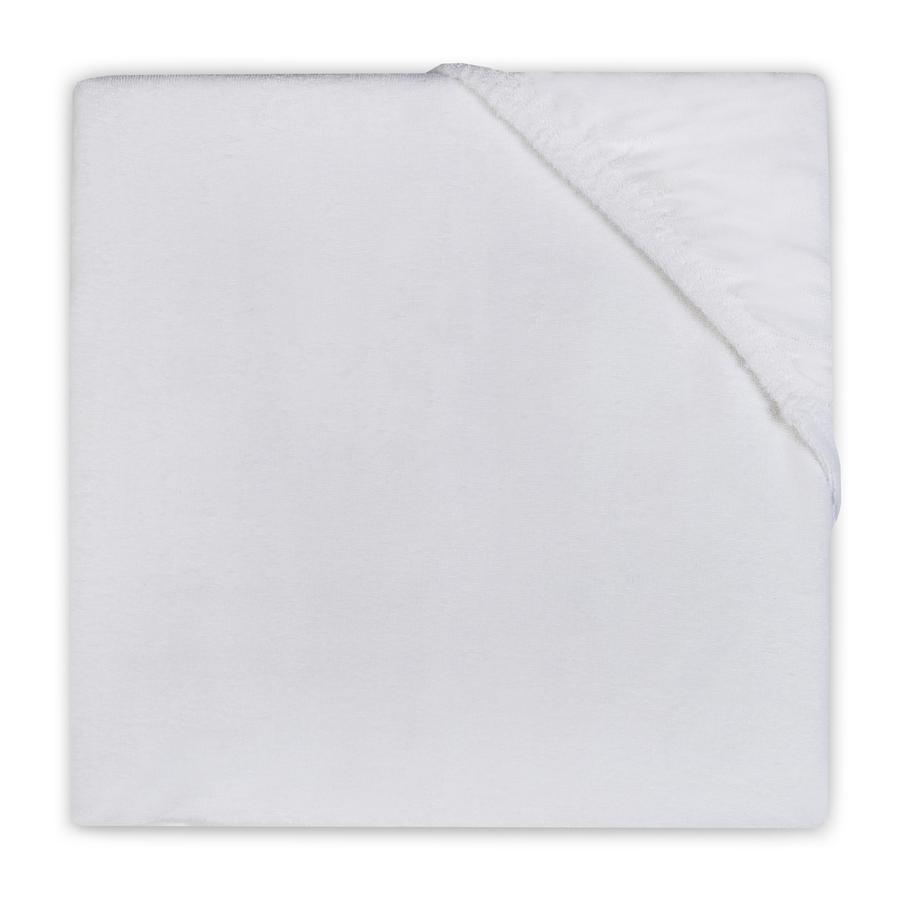 jollein Spannlaken Molton 60x120 cm weiß