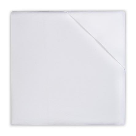 jollein Drap molletonné blanc 50 x 90 cm