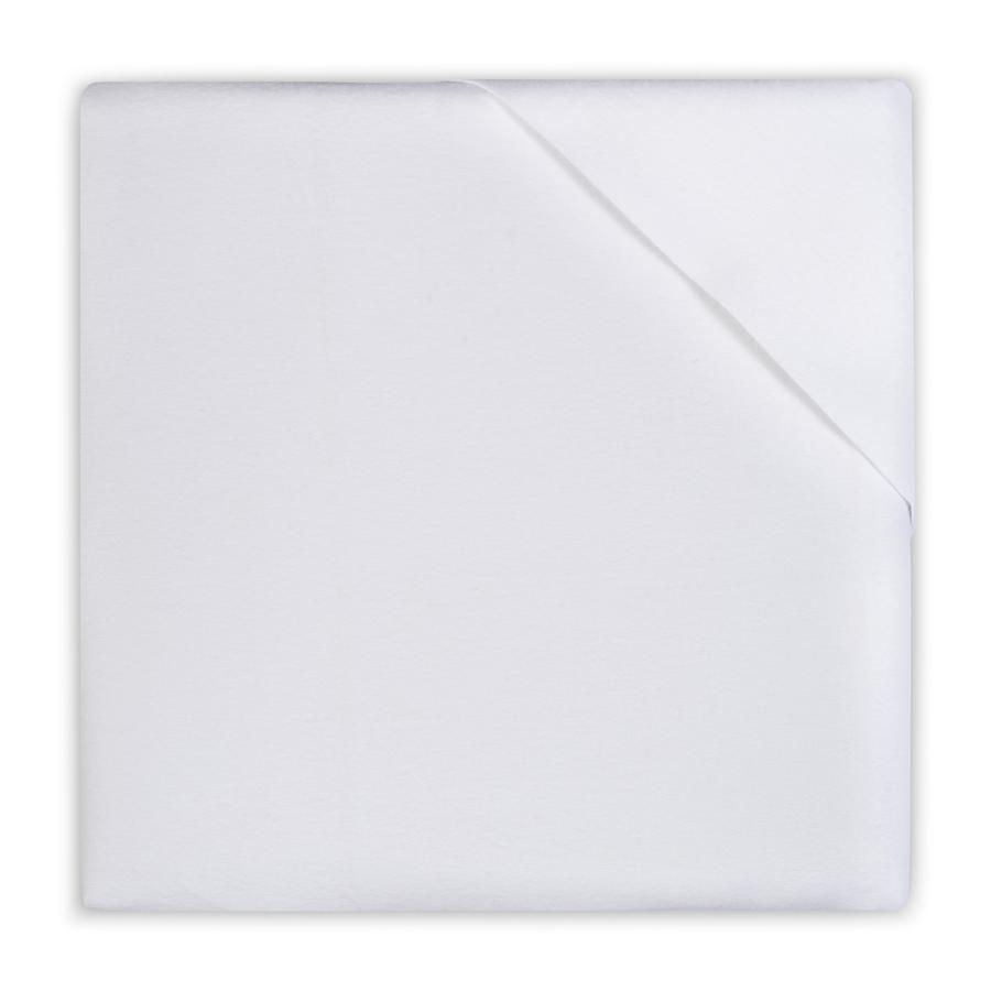 jollein Molton-Gummituch 50x90 cm weiß