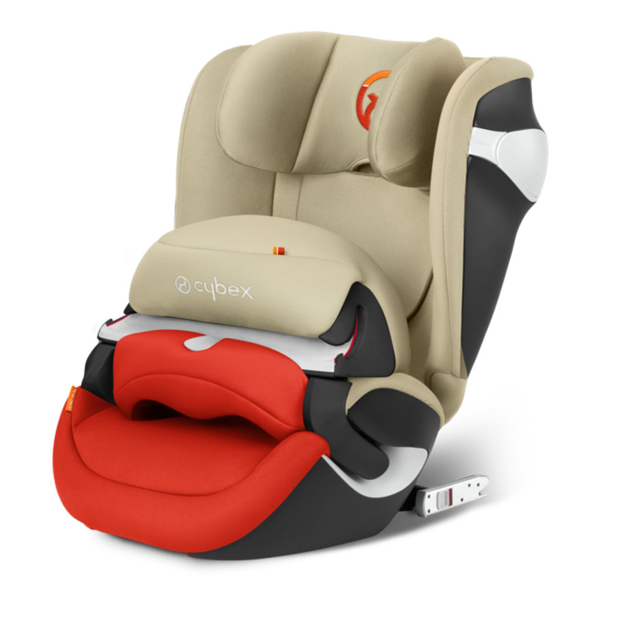 cybex GOLD Kindersitz Juno M-fix Autumn Gold-burnt red