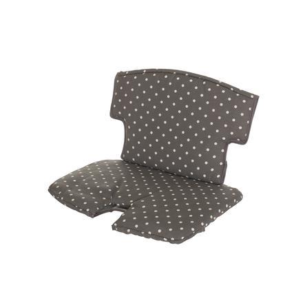 Geuther Sitzkissen Syt 4740 154 graue  Streifen / Punkte