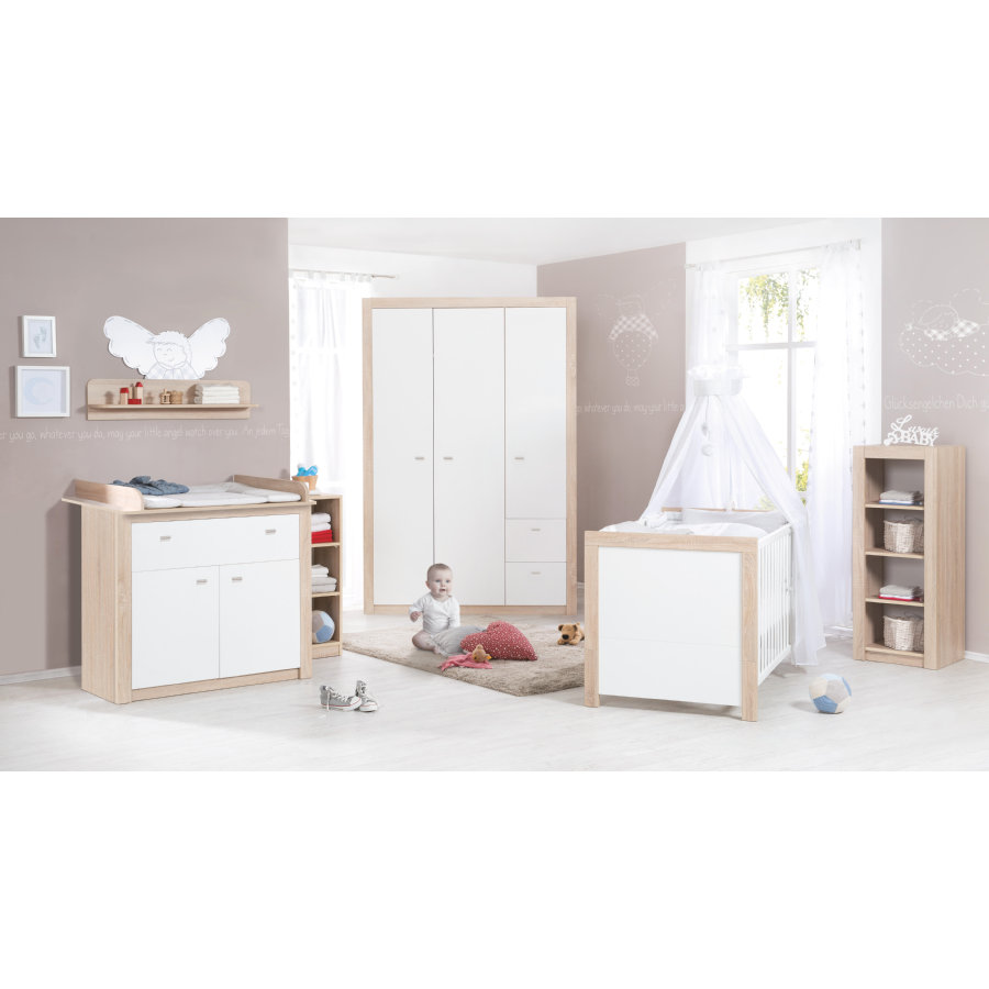 roba kinderzimmer leni 2 3 t rig 3 teilig. Black Bedroom Furniture Sets. Home Design Ideas