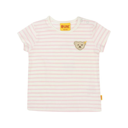 Steiff Girls T-Shirt Ringel barely pink