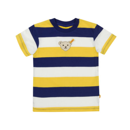 Steiff Boys T-Shirt yellow blue