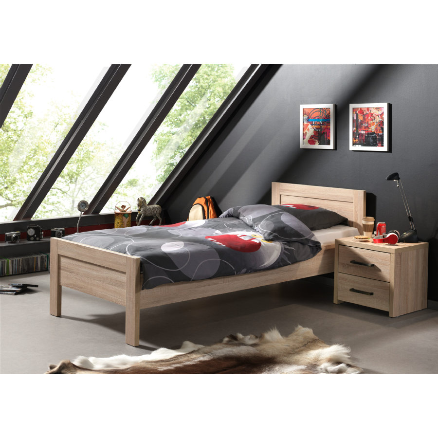 VIPACK Aline Einzelbett inkl. Nachtkonsole