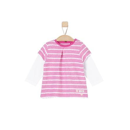 s.Oliver Klänning pink stripes
