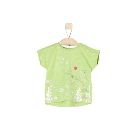 s.Oliver Girl s T-Shirt lichtgroene melange