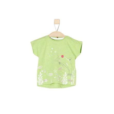 s.Oliver Girl s T-Shirt vert clair melange