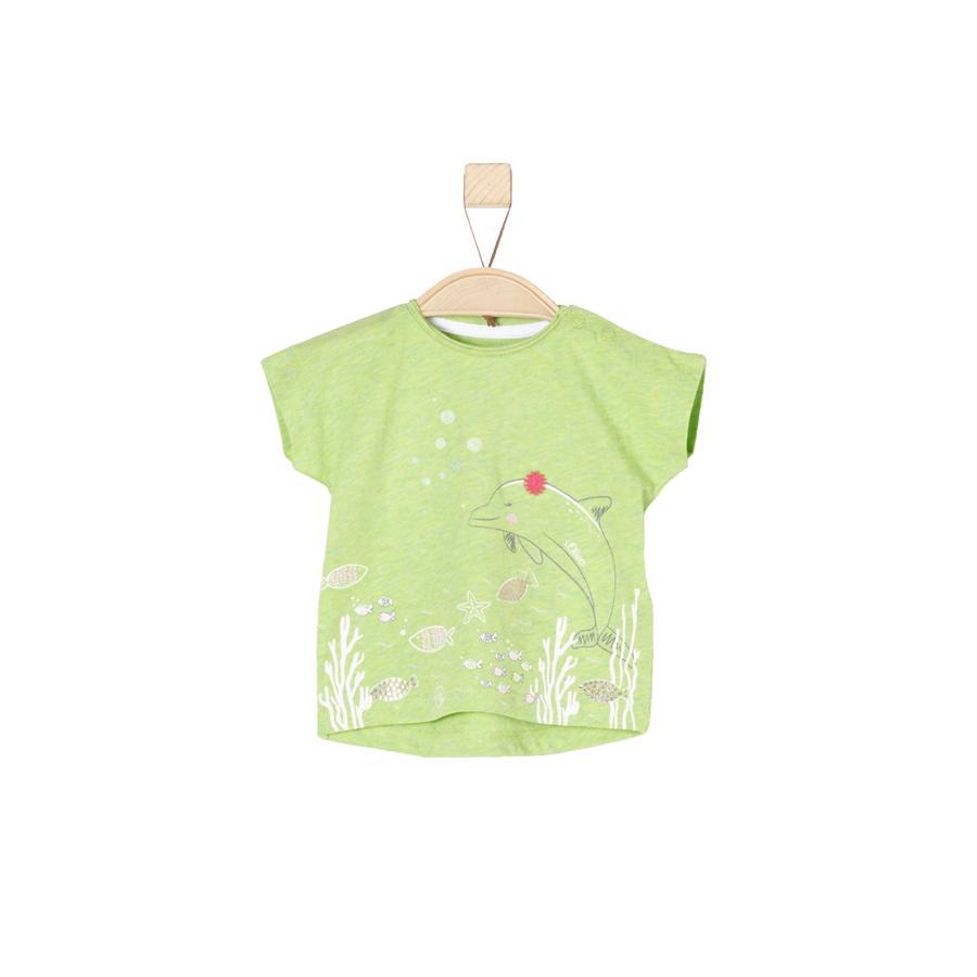 s.Oliver Girls T-Shirt light green melange