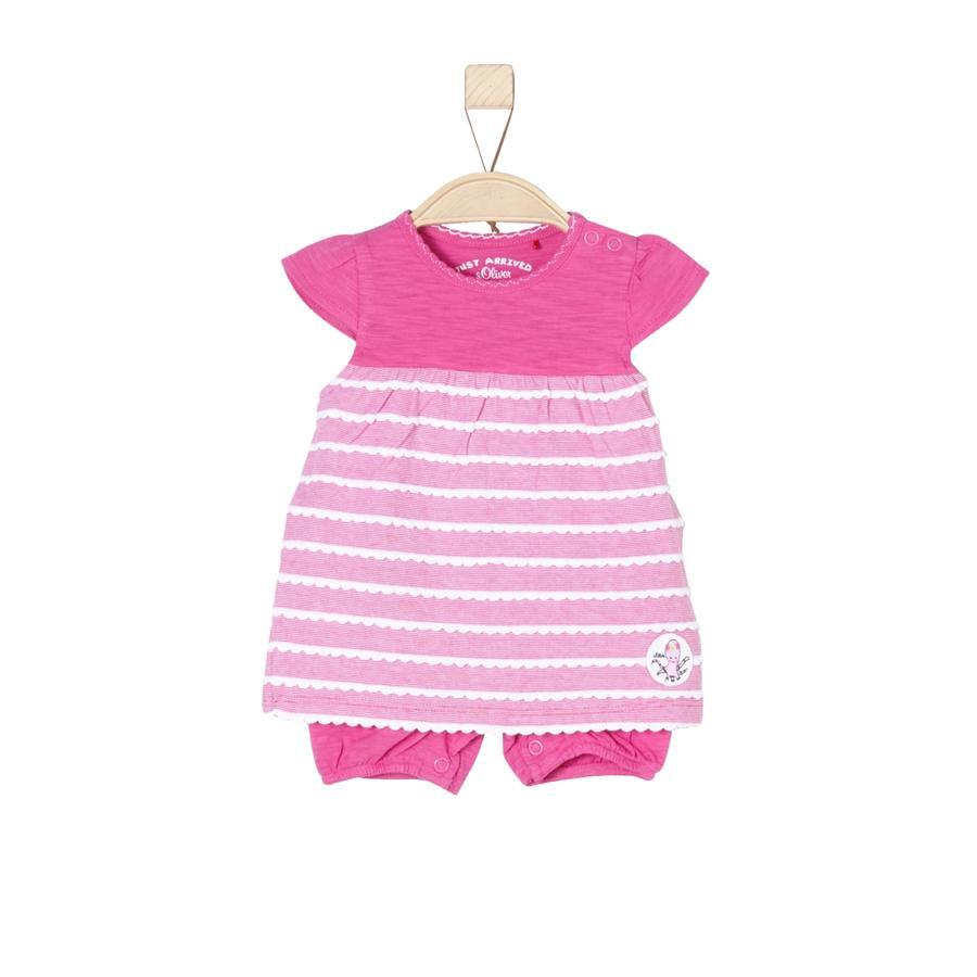 s.Oliver Girls Kleid pink stripes
