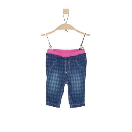 s.Oliver Jeans blue denim non stretch regular