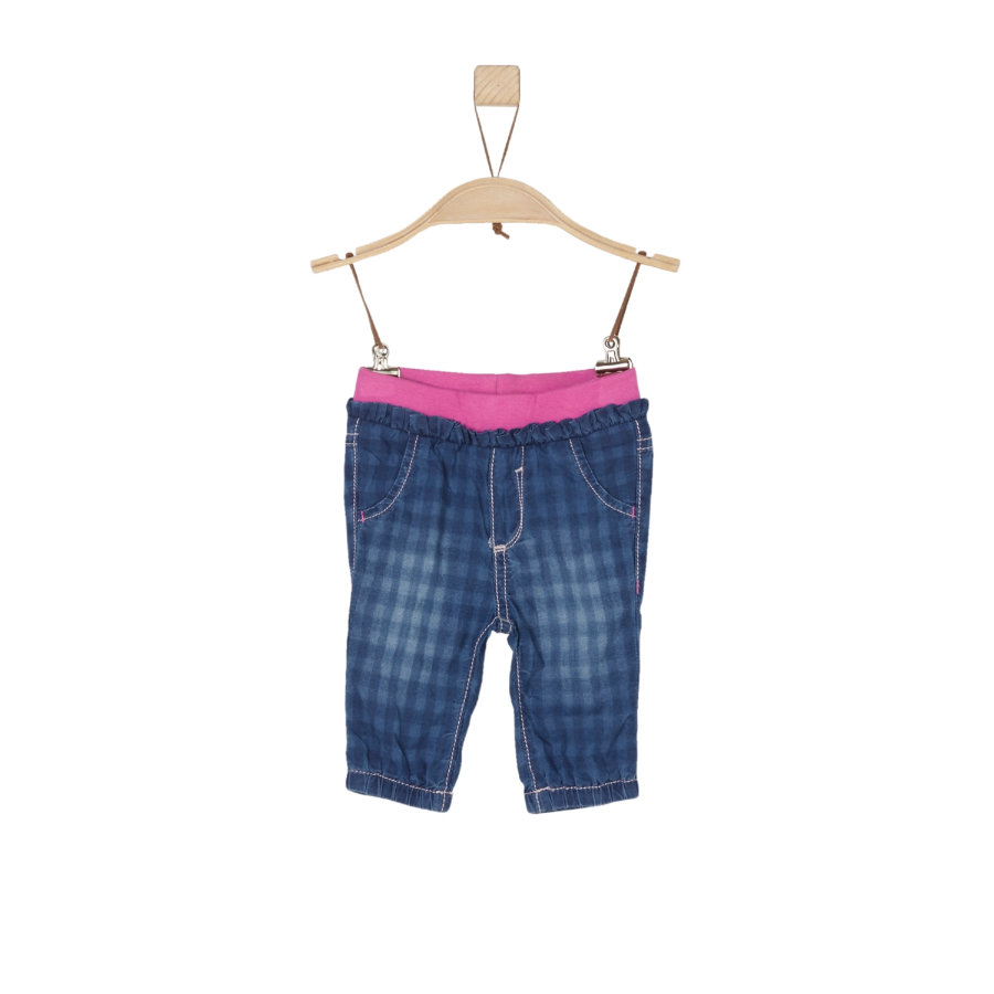s.Oliver Girl s dżinsy niebieskie denim non stretch regularny