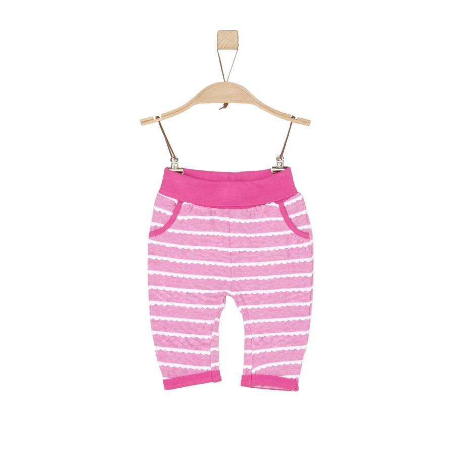 s.Oliver Girl s Pantalon de survêtement à rayures roses