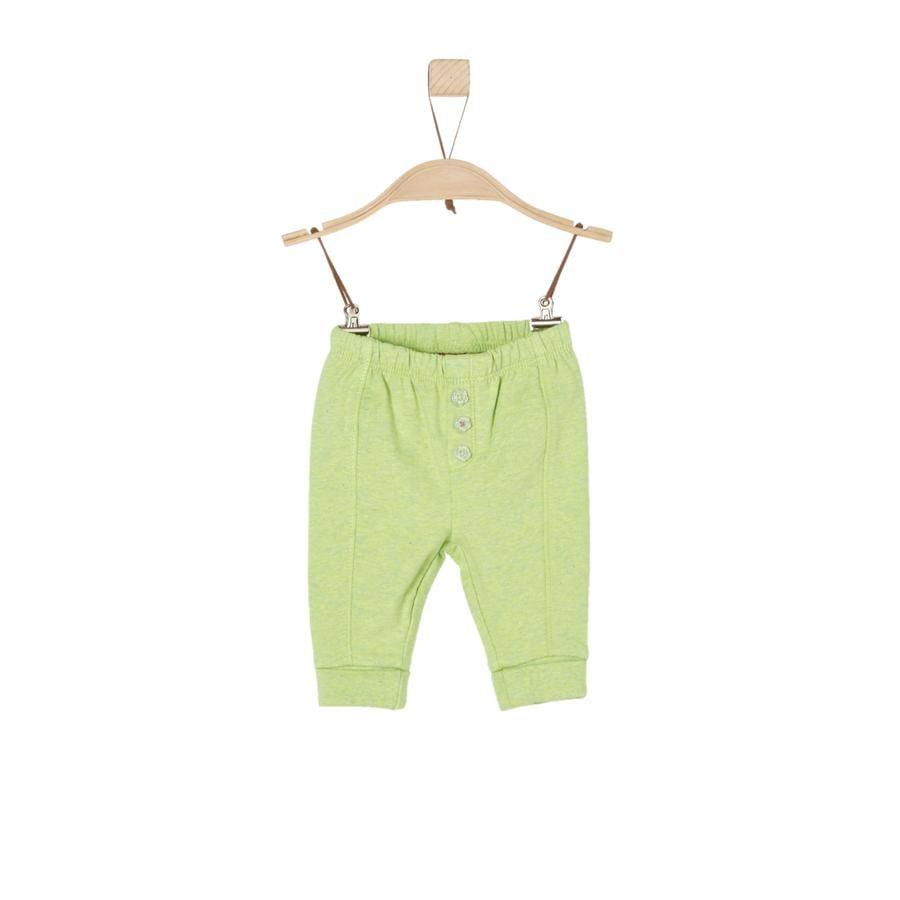 s.Oliver Boys Pantalon de survêtement vert pâle melange