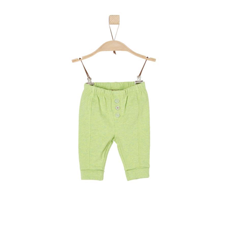 s.Oliver Boys Spodnie dresowe jasnozielony melange