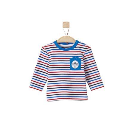 s.Oliver Boys Longsleeve white stripes