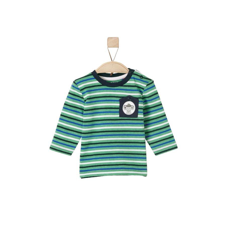 s.Oliver Boys Longsleeve groene strepen