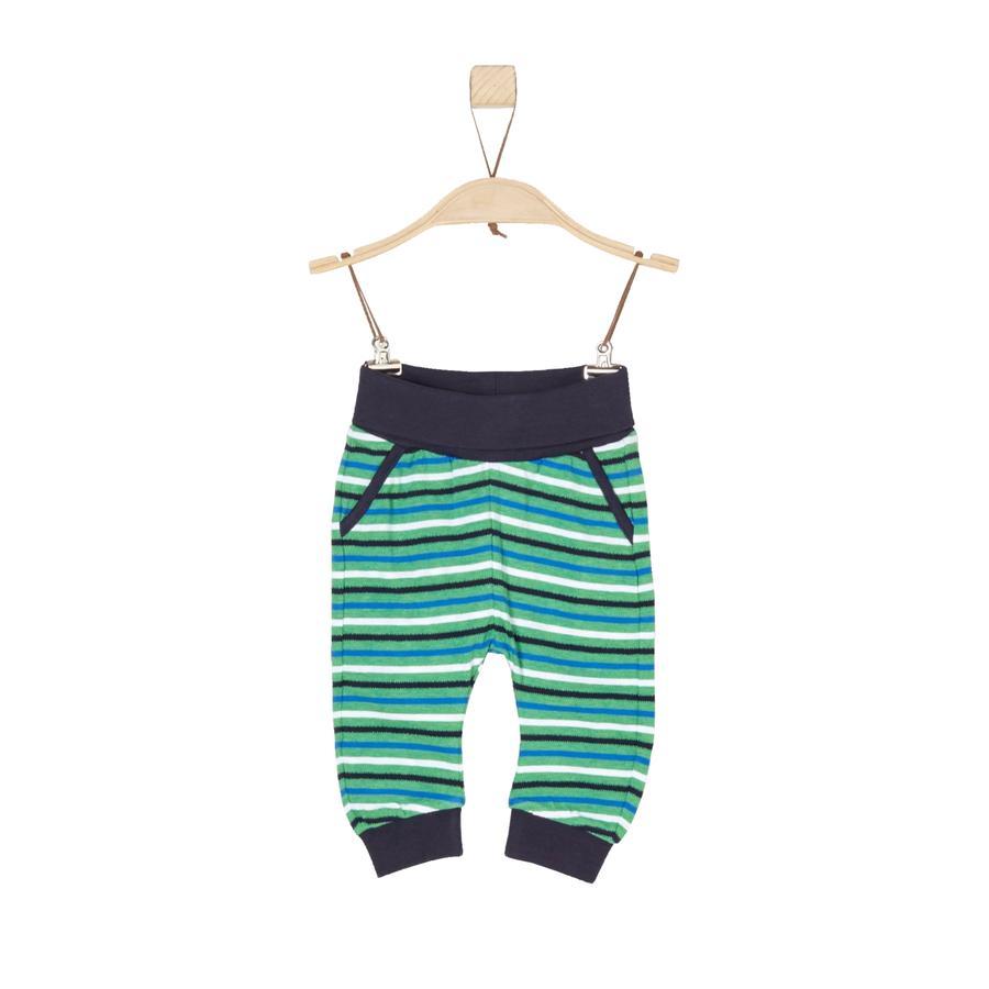 s.Oliver Boys Pantalon de survêtement à rayures vertes
