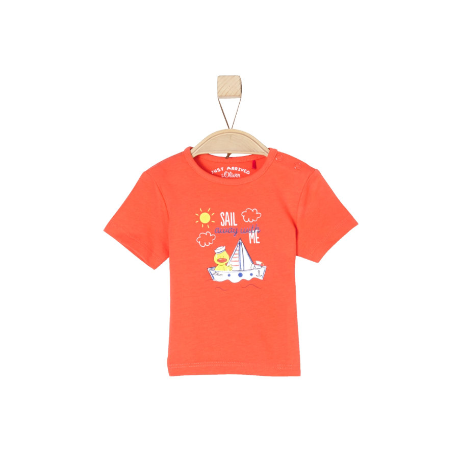 s.Oliver Girls T-Shirt dark orange